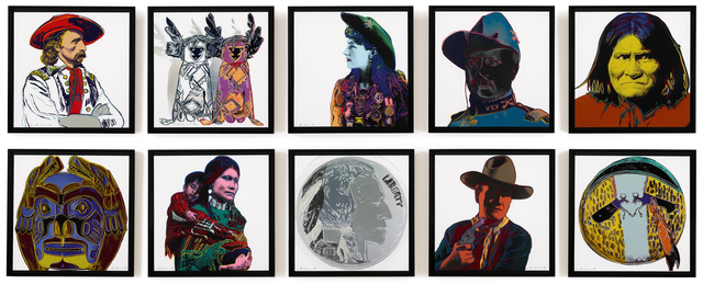 , 'Cowboys and Indians,' 1986, ARCHEUS/POST-MODERN