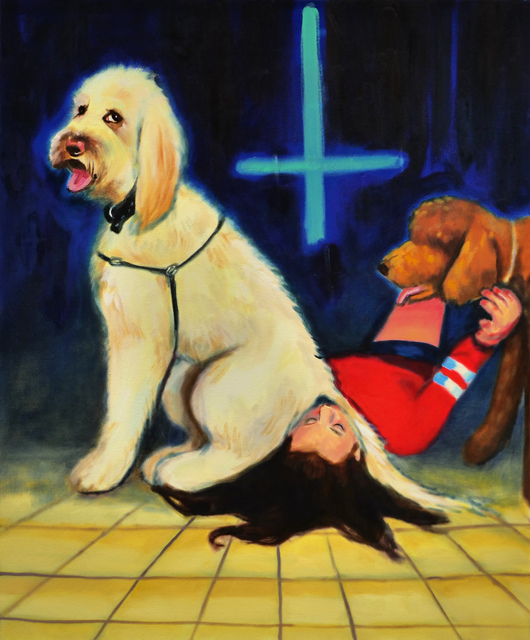 , ' The Antichrist, 2019, oil on canvas, 120x100 cm ,' 2019, Rosenfeld Gallery