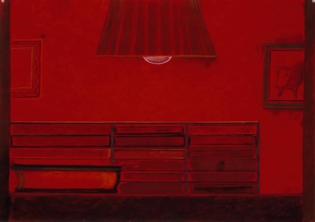 , 'Untitled (Red bookcase),' 2006, David Nolan Gallery