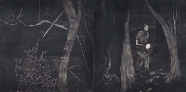 Jihyun Jung, 'Night Walker', 2013, Gallery Skape