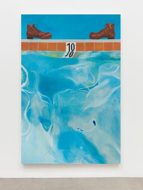 , 'Ten (Pool Picture),' 2018, Almine Rech