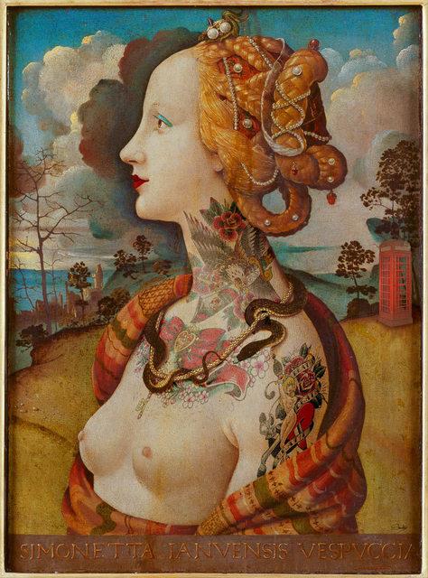 , 'Simonetta Vespucci,' 2018, Klein Gallery