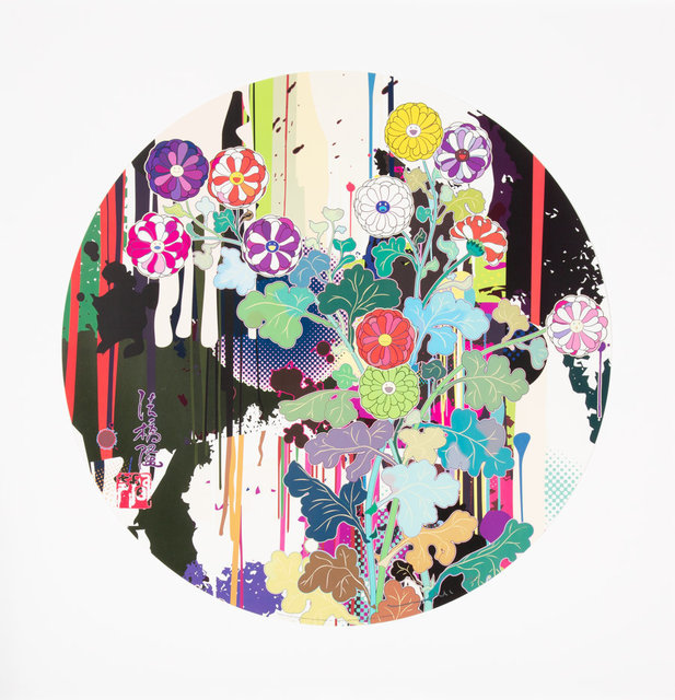 Takashi Murakami, 'I Recall a Time When My Feet Lifted Off the Ground Ever So Slightly-Korin-Chrysanthemum', 2009, Heritage Auctions