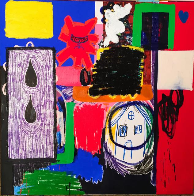 , 'Faling House,' 2016, Galerie Krinzinger