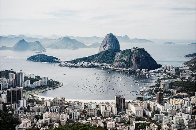 , 'View of Baia de Guanabara, Botafogo Beach, Rio deJaneiro, Brazil,' 2014, Lora Reynolds Gallery