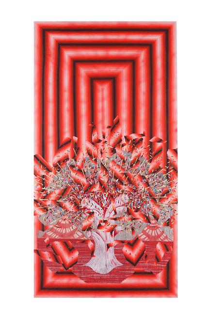 , 'Broken Pattern (Red Tree),' 2016, Joshua Liner Gallery