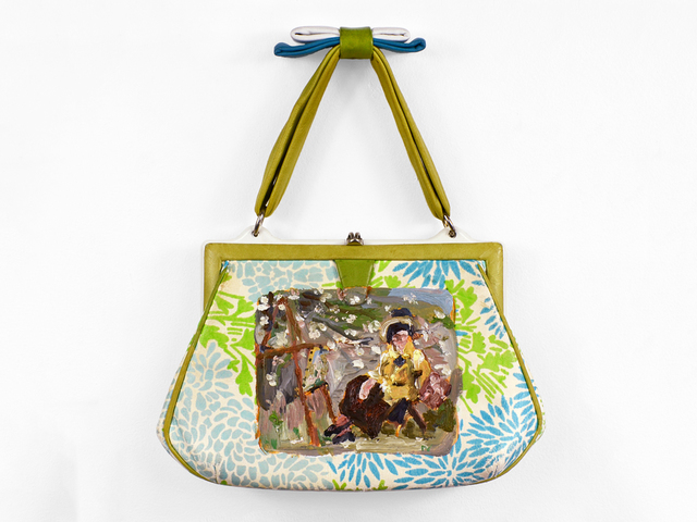 , 'Plein Air Purse (after Louise Catherine Breslau),' 2017, Fisher Parrish Gallery