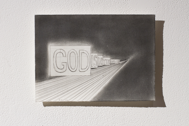 , 'God is in the details,' 2015, Art Mûr