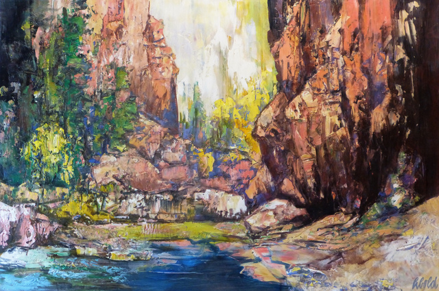 Hans Schiebold, 'Inside the Canyon', 2019, Bryant Nagel Galleries