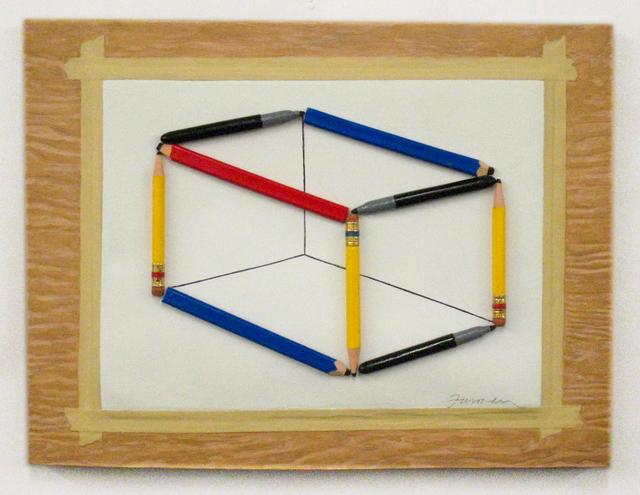 , 'Pencil Perspective,' 2017, Lois Lambert Gallery