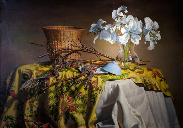 Stephen Tanis, 'Still Life with Fan Tail Willow', Somerville Manning Gallery
