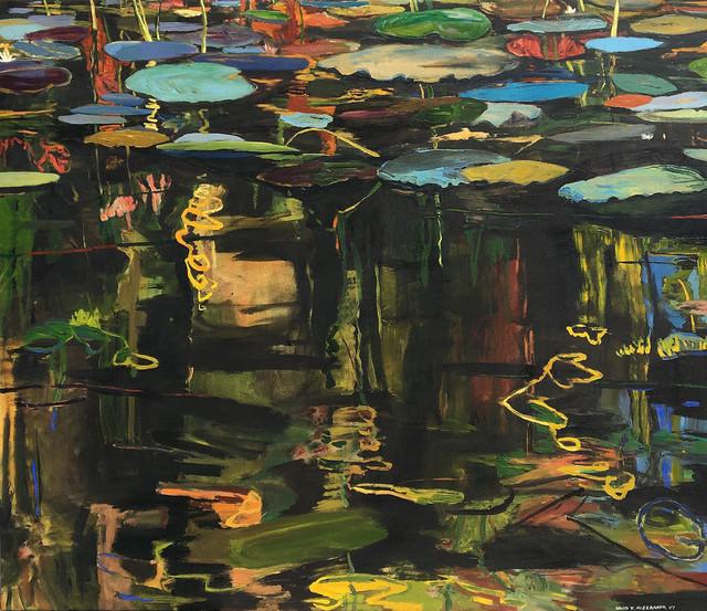 , 'Green Blue Palettes,' 2007, Bau-Xi Gallery
