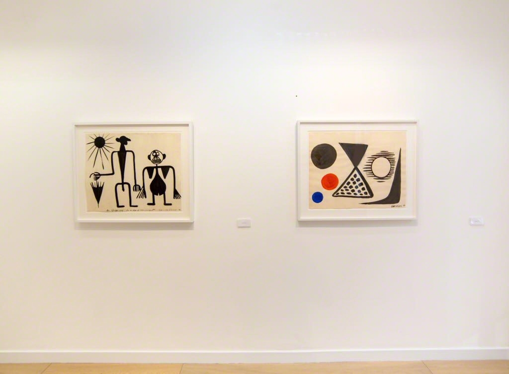Calder on Paper: 1939-1959, Installation View