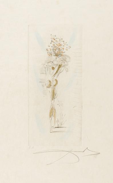 Salvador Dalí, 'Vignettes, from 'Petits nus d'Apollinaire' (Field 72-4; M&L 205)', 1967, Forum Auctions