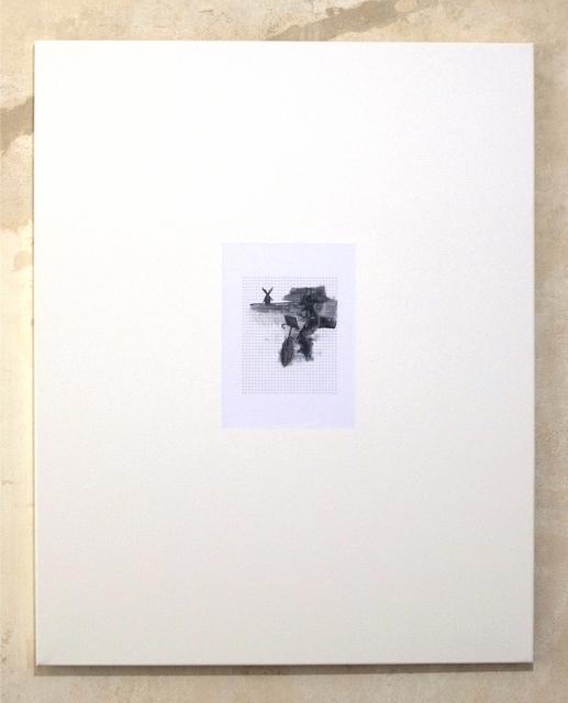 , 'Untitled (Mondriaan auf dem Fahrrad malen #1),' 2012, Clages