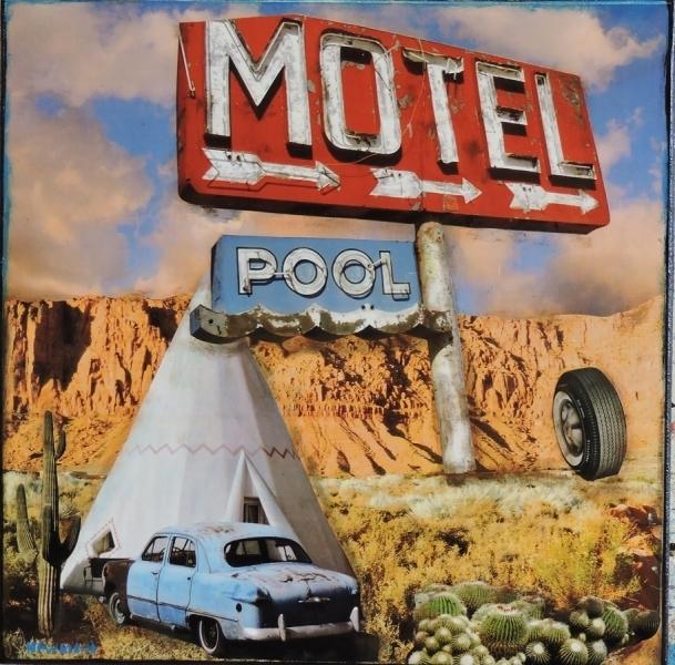 , 'Motel, Tee Pee and Pool,' 2018, Xanadu Gallery