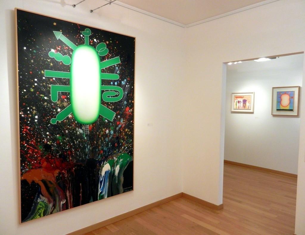 Exhibition 'La felicità delle metamorfosi' - Sadamasa Motonaga March 18th - May 15th 2015 De Primi Fine Art, Lugano