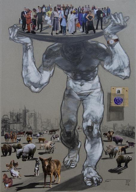 Dawit Abebe, ' Mutual Identity 30', 2000, Kristin Hjellegjerde Gallery