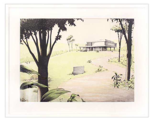 """Todd Francis, '""""VACATION HOME"""" COSTA RICA', 2015, Subliminal Projects"""