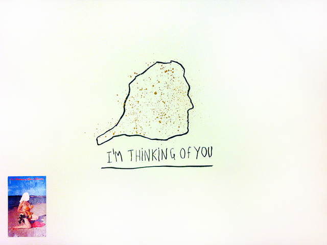 , 'I'm thinking of you,' 2011, Caroline Pagès Gallery