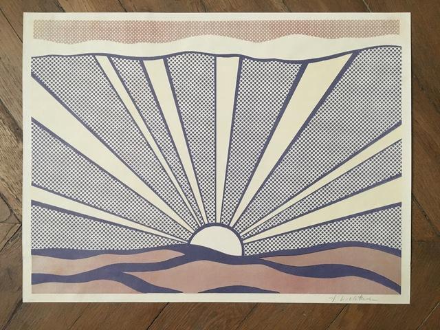 Roy Lichtenstein, 'SUNRISE', 1965, Galerie Céline Moine & LGFA