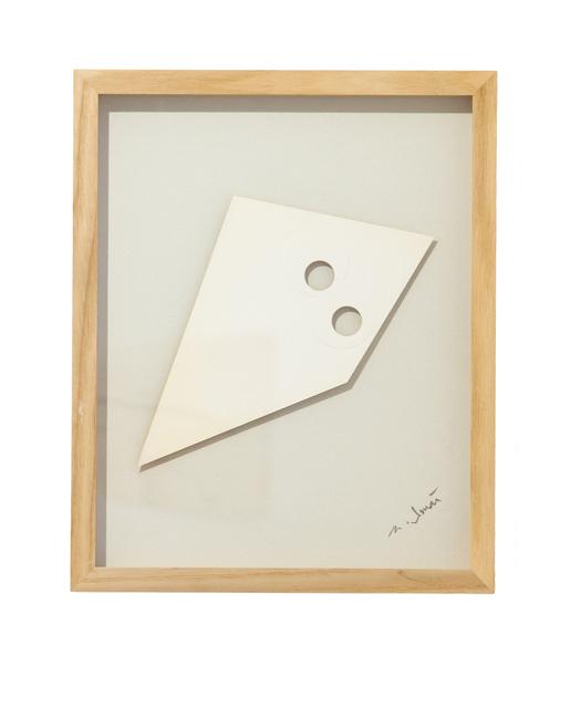 , 'White Piece-B,' 1966, ALICE BLACK