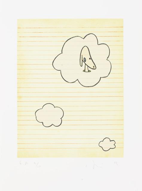 Yoshitomo Nara, 'Over the Rainbow II', 2005, Print, Original Lithograph, Edition Copenhagen