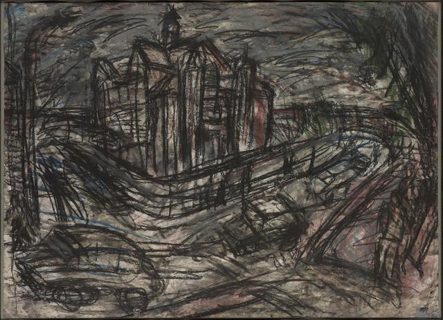 , 'School Building, Willesden I,' 1980, Offer Waterman