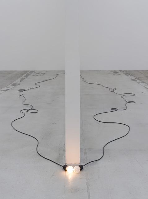 , 'Von anderen Aussagen über den Moment (From other statements about one moment),' 2014, Galleri Nicolai Wallner