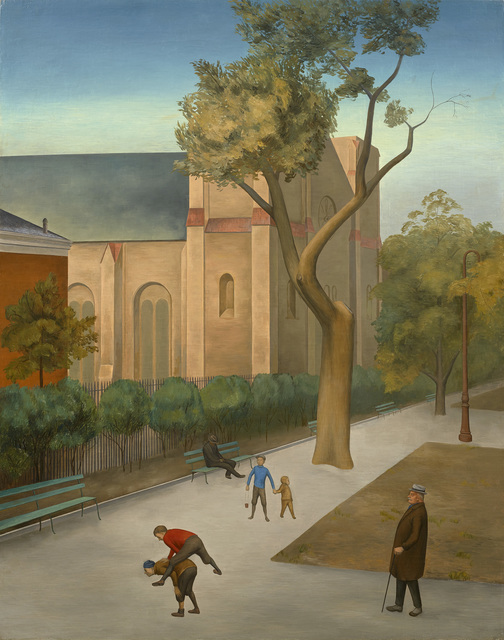 , 'St. George's Church, Stuyvesant Square,' ca. 1933, Debra Force Fine Art