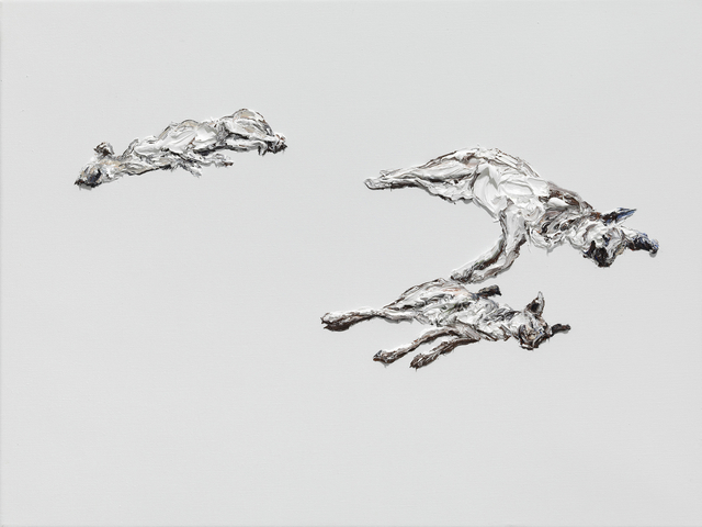 """, 'Untitled - aus der Serie """"Schlafende Hunde"""",' 2017, Galerie Crone"""
