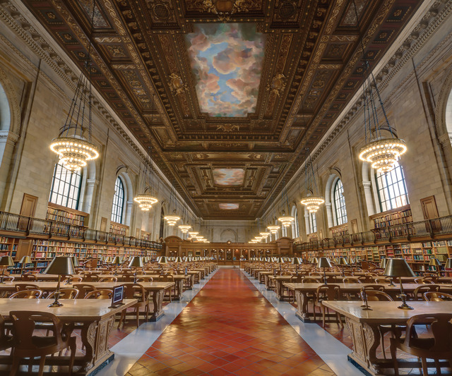 , 'New York Public Library,' , ArtStar