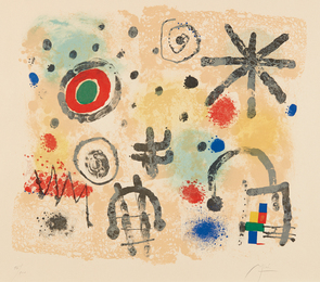 Joan Miró, 'Signes et météores (Signs and Meteors),' 1958, Phillips: Evening and Day Editions (October 2016)