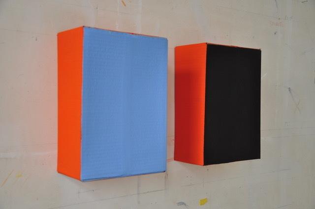 , 'Dix Jours / Dix Nuits (orange),' 1985, Tatjana Pieters