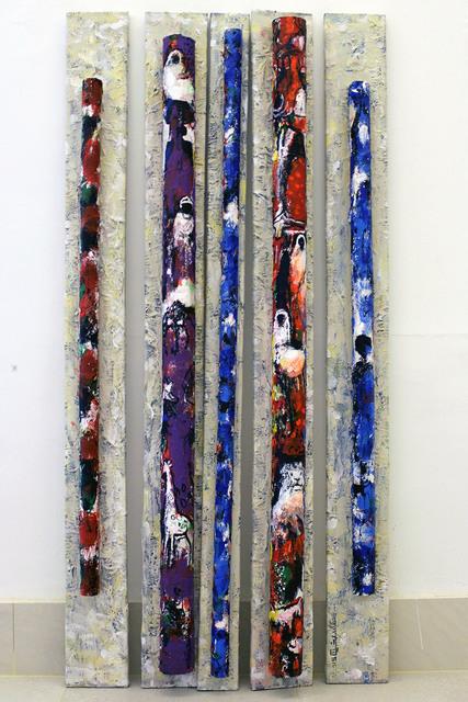 , 'Cylinders ,' 2015, Dar Al-Anda Art Gallery