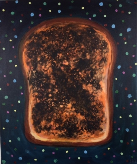 , 'Burt Toast Galaxy,' 2016, Joshua Tree Art Gallery