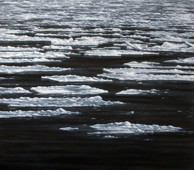 , 'Frozen Inlet,' 2016, James Baird
