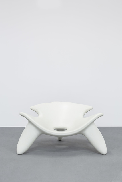 , 'Concrete Chair White,' 2010, Carpenters Workshop Gallery