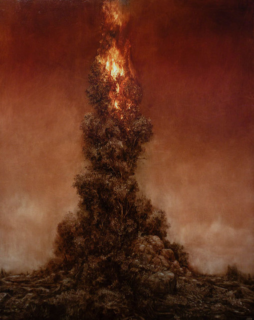 , 'Black Lung (Burning Tree 2),' , OLSEN GALLERY
