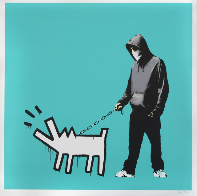 Banksy, 'Choose Your Weapon (Turquoise)', 2010, Julien's Auctions