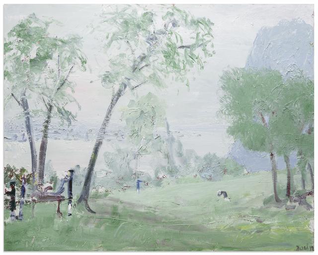 , 'Death of Hamilton,' 2017, Anna Zorina Gallery