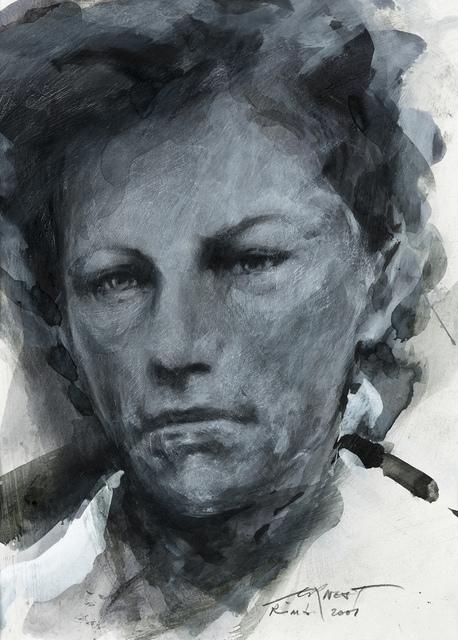 , 'Etude pour Rimbaud,' 2001, Galerie Lelong & Co.
