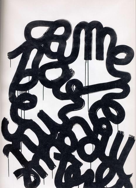 , 'me perdue pas,' 2005, Galerie Reinhard Hauff
