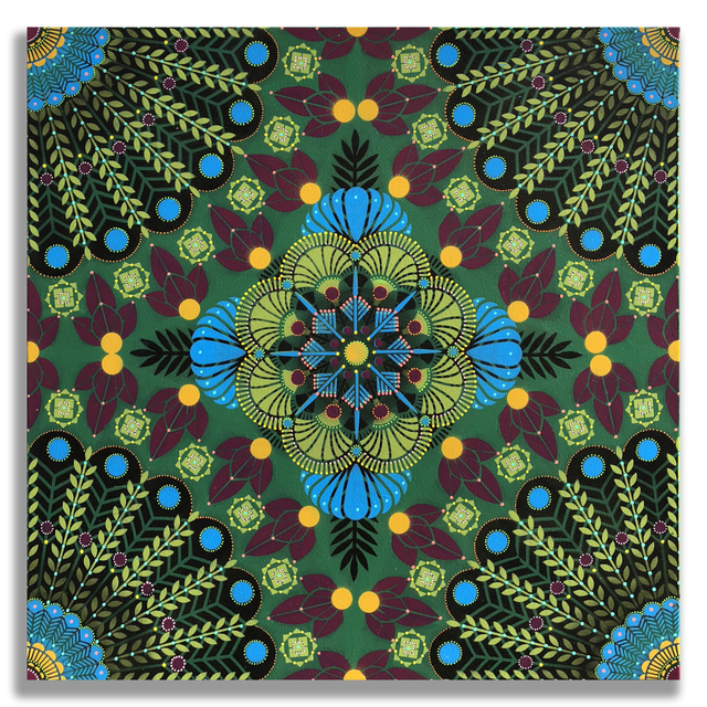 , 'Kaleidoscopic Nature 11,' 2018, Jonathan LeVine Projects