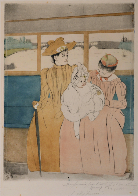 , 'In the Omnibus,' 1890-1891, David Tunick, Inc.