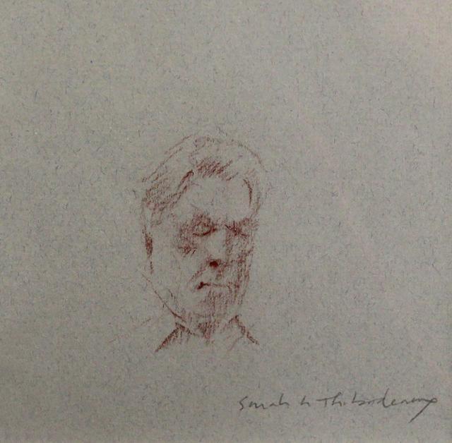, 'Man on Train,' , LeMieux Galleries