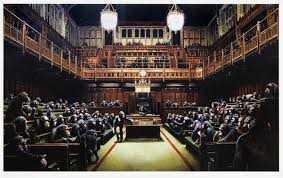Banksy, 'Monkey Parliament', 2009, Tate Ward Auctions