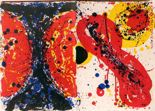 Sam Francis, 'Uncle Sam, One Cent Life', 1964, Woodward Gallery