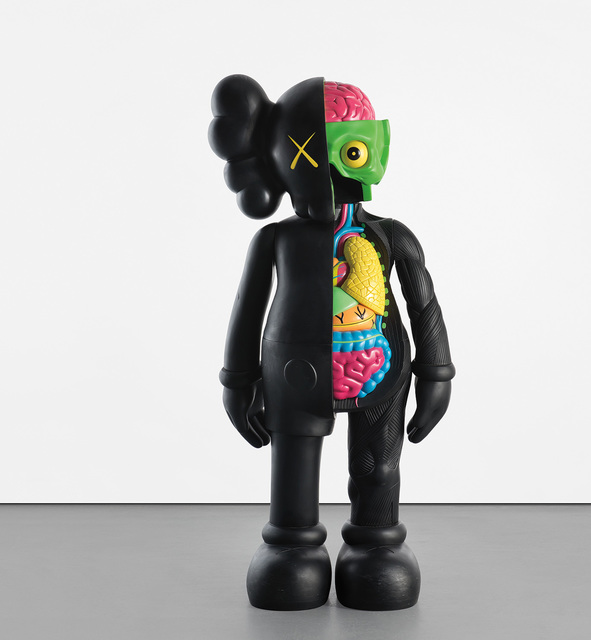 KAWS, 'FOUR FOOT DISSECTED COMPANION (BLACK)', 2009, Phillips