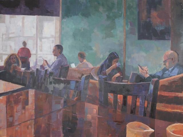 , 'Holburn interior,' , Castlegate House Gallery